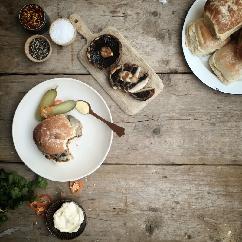 Black Bean Burgers by Jessica Bride for Belle Annee (1)